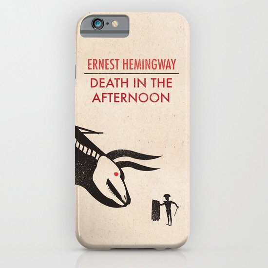 Death in the afternoon iPhone & iPod Case