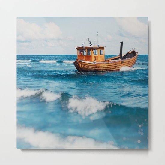 The Boat. Metal Print