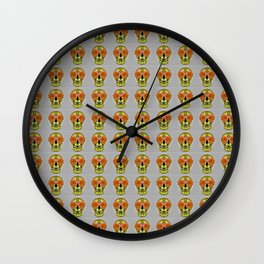 Skull Face Mood Wall Clock