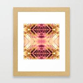 PINK SPANGLES no9-R2 Framed Art Print