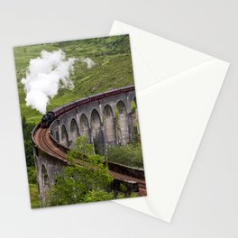 A train journey is another world. Stationery Cards
