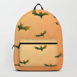Bats (orange bg) Backpack