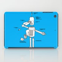 bender iPad Cases featuring Bender by Enrique Guillamon