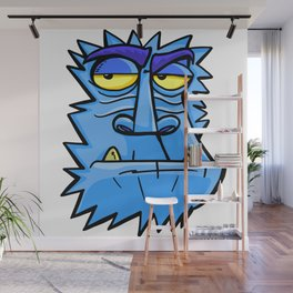 Antarctic angry monkey Wall Mural