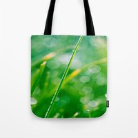 bokeh Tote Bags featuring Bokeh by DianaSPhotography