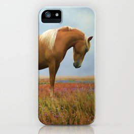 Painted Pastures iPhone Case