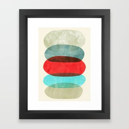 Underneath it all Framed Art Print