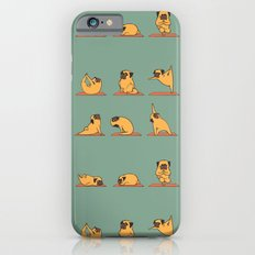 Pug Yoga Slim Case iPhone 6