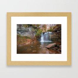 Hayden Falls Park - Dublin Ohio Framed Art Print