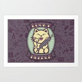 The Lucky Needle Art Print