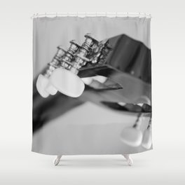 Headstock Shower Curtain