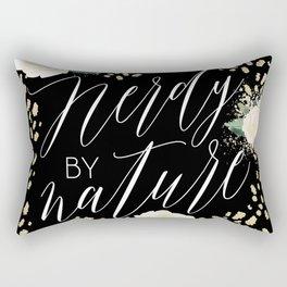 Nerdy by Nature Rectangular Pillow