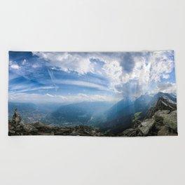 Meran // Mutspitze Beach Towel