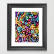 Wild Glitter Framed Art Print
