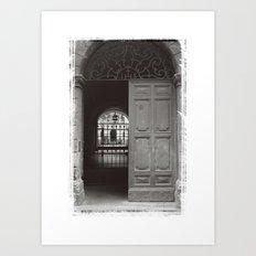 Rome Door 3 Art Print