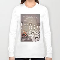 amelie Long Sleeve T-shirts featuring Amelie by The Fan Wars