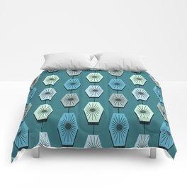 Mid Century Modern Pattern Comforters