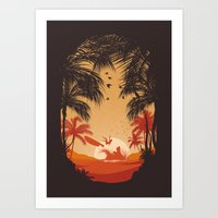 Summertime Madness Art Print