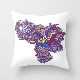 Venezuel Estilo bolsillo Throw Pillow