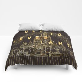 Off to Neverland Comforters