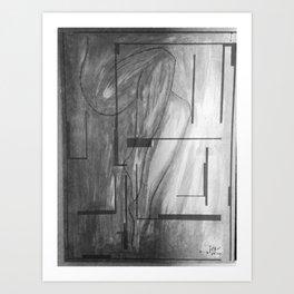 Dark Sister 2 Art Print