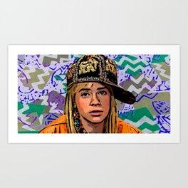 Clarissa Explains It Art Print