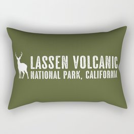Deer: Lassen Volcanic, California Rectangular Pillow
