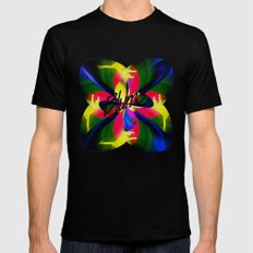 Blume  Black Mens Fitted Tee SMALL