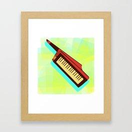 The Magic of the Keytar Framed Art Print