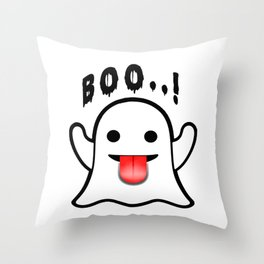 BOO ! Throw Pillow