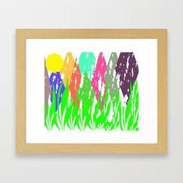 child painter Framed Art Print
