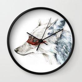 Coyote I Wall Clock