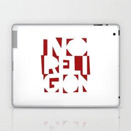 No Religion V-Red Laptop & iPad Skin