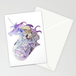 The Last Unicorn - Amalthea and Lir Stationery Cards