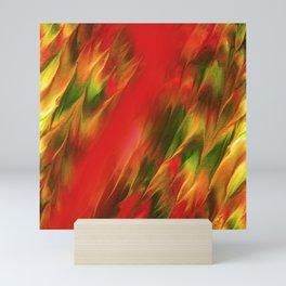 Melting in red / Sciogliersi nel rosso Mini Art Print