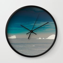 Frozen Islands Wall Clock