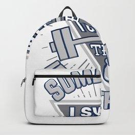 I Swear I Can Feel The Iron Tremble Backpack