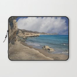 Beach Blue Sea Ocean Cliff Laptop Sleeve