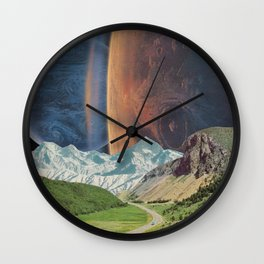 Nice Drive into the park Wall Clock