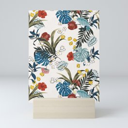 Tropical pattern Mini Art Print