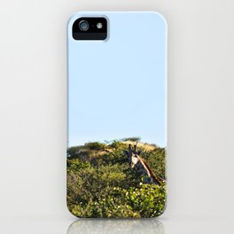 Giraffe. iPhone Case