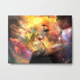 the kiss Metal Print