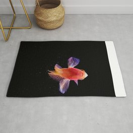 Sara's little red fish Rug