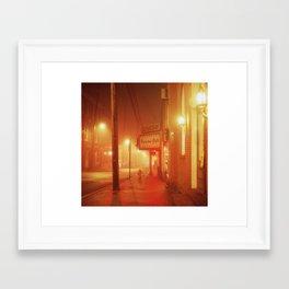 Old Ellicott City, MD Framed Art Print