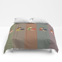 Lumber Ladies Read Comforters