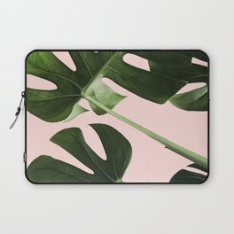Monstera x Pink Laptop Sleeve