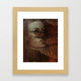 Autumn portrait Framed Art Print