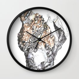 untitled (from the stone maiden series) Wall Clock