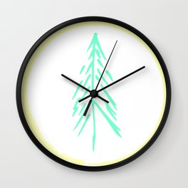 Forest Here Wall Clock