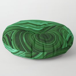 GREEN MALACHITE STONE PATTERN Floor Pillow